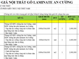 Bao Gia Noi That Go Laminate 01