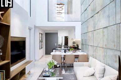 Thi Công Hoàn Thiện Trọn Gói Xây Dựng Và Nội Thất Căn Hộ Duplex 2109 Chung Cư Mulberry Lane – Mỗ Lao